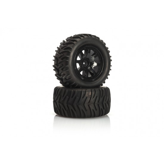 Gomme Monster 1/10 completo di cerchio Gomme 122270