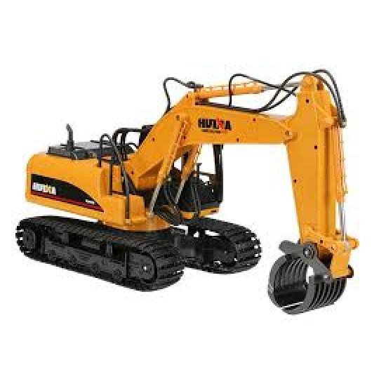 Huina 1-14 escavatore cingolato con pinza per spostamento legna Mezzi da lavoro cy1570