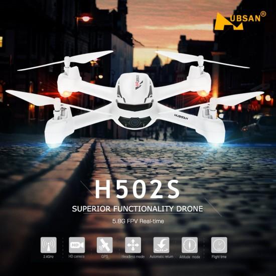 Quadricottero Hubsan x4 50s con gps Quadricotteri HubH502s